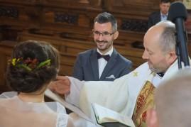 Ceremonia ślubna Pan Młody