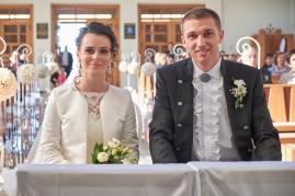 Ceremonia ślubna Panśtwo Młodzi w kościele