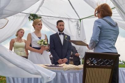 Ceremonia ślubna w plenerze urząd stanu cywlinego