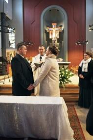 Ceremonia ślubna w zimowej wersji