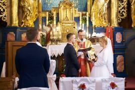 Ceremonia i składanie przysięgi małżeńskiej