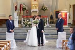 Ceremonia pierwszy pocałunek