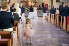 Ceremonia reportaż ślubny dzieci