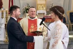 Ceremonia składanie przysięgi ślubnej