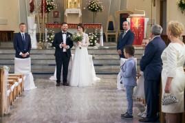 Ceremonia wyjście z kościoła