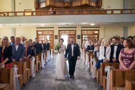 Ceremonia zaślubin w kościele