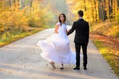 Plener Ślubny złota jesień