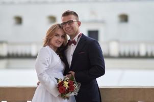 Plener ślubny i Zamek Krasiczyn portret