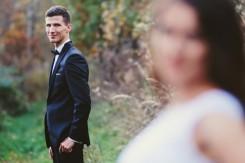 Plener ślubny Pan młody