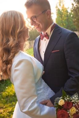 Plener ślubny romantycznie w Krasiczynie