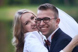 Plener ślubny uśmiechy w Krasiczynie
