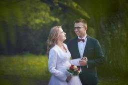 Plener ślubny w Krasiczyn
