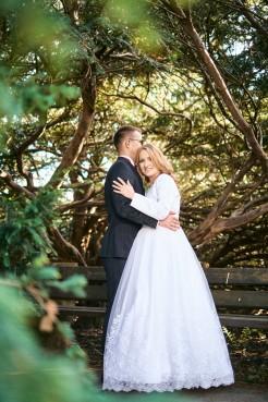 Plener ślubny w Krasiczynie piękno w parku
