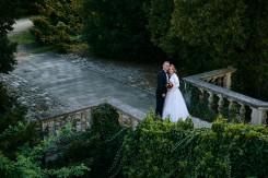 Plener ślubny w Krasiczynie w zieleni