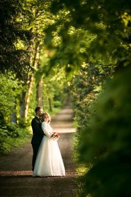 Plener ślubny w parku Krasiczyn