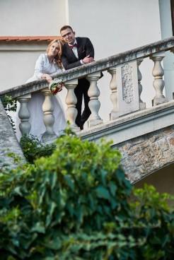 Plener ślubny Zamek Krasiczyn Młoda Para