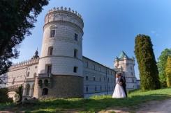 Plener ślubny Zamek w Krasiczynie