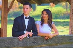 Plener ślubny zdjęcie w altance Sołonka
