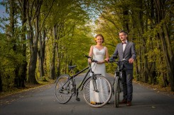 Plener w Tarnowie z rowerami