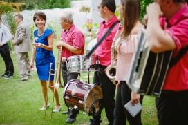 Przygotowania ślubne i orkiestra