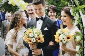 Przygotowania ślubne Pan Młody i dróżki