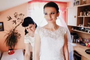 Przygotowania ślubne Pani Młoda ostatnie poprawki