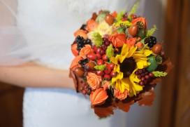 Przygotowania Pani Młodej bukiet ślubny