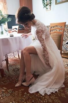 Przygotowania Pani Młodej Buty ślubne